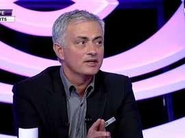 Mourinho falou do Clássico do Bernabéu. Captura/beINSports