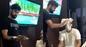 Diego Costa subió un divertido vídeo a sus redes. Instagram/DiegoCosta