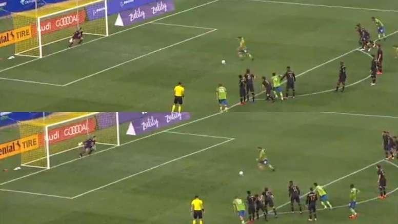 No es una copia: Lodeiro, infalible por partida doble de penalti. Captura/MLS