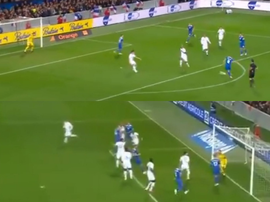L'Islande a mené 0-2. Capture/TF1