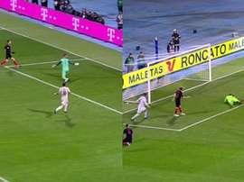 España consiguió reaccionar al primer tanto croata. Captura/La1