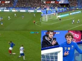 Pas champions du monde pour rien : leçon de foot par Mbappé et Griezmann