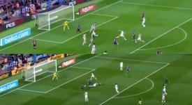 Ambos cerraron la goleada del Barcelona ante el Alavés. Captura/BeINSports