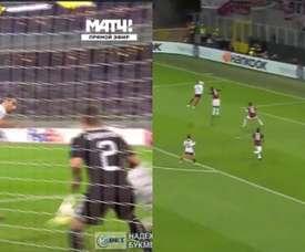 Dos goles muy diferentes. Captura/RMC