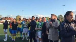 Equipes abandonam partida da FA Cup por ato racista. Captura/YeovilTown