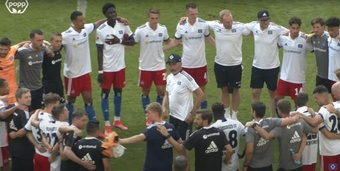 The Germans unveiled their new kit on 17th July. YouTube/HSV