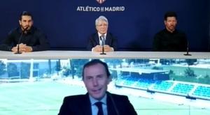 Os problemas do sorteio da Champions; nem Real nem Atlético falaram. Captura/UEFA
