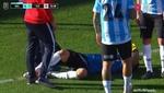 Terrible: Lucas Chávez se fracturó el tobillo y estará entre 4 y 6 meses de baja