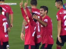 Luka Romero décroche un nouveau record en Espagne. Capture/LaLigaTV