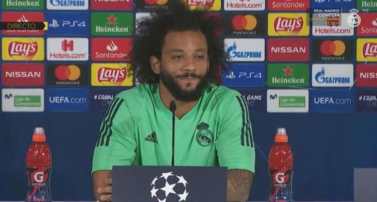Marcelo analisou confronto contra o Galatasaray. Captura/RMTV