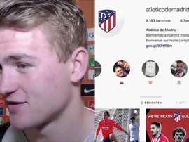 De Ligt suivait l'Atlético: Capture/DeLigt/Atlético