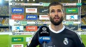 Nacho salientou a qualidade do Real Madrid. Captura/MovistarLaLiga