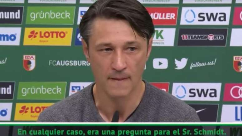 Kovac got angry in the press room: Tell the truth. Captura/ASTV