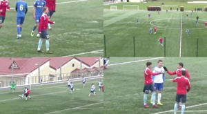 Znayma Truda are continuing to play friendlies despite the coronavirus. Capturas/ZnamyaTrudaFC