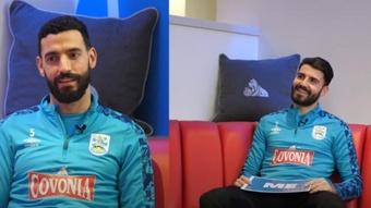 Pipa y Álex Vallejo serán de la partida ante el Sheffield Wednesday. Yotube/HTAFC