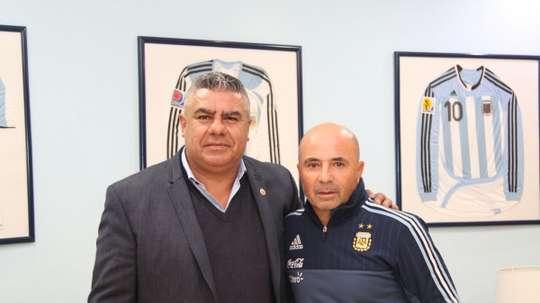 El presidente de la AFA desveló el interés por Guardiola. SelecciónArgentina