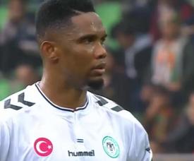 Samuel Eto'o pourrait revenir en Serie A.  Twitter/FutCep
