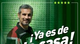 El club anunció la renovación en redes sociales. Captura/Twitter/SantiagoWanderers
