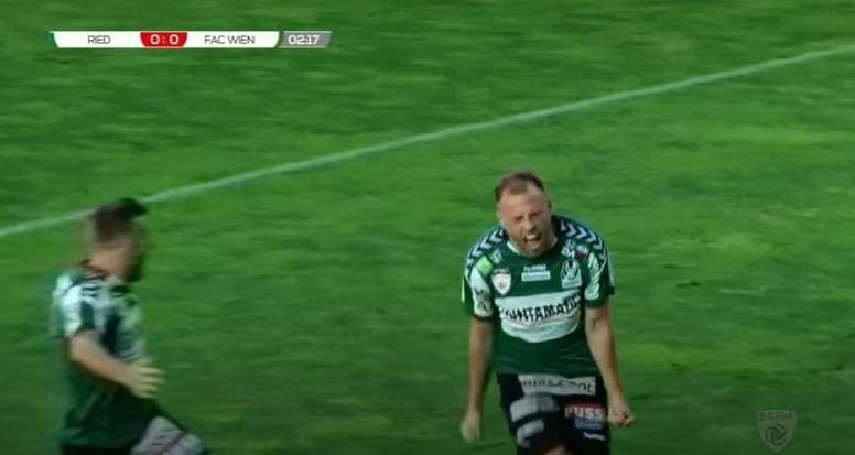 Un partido en Austria, en tela de juicio tras un 9-0 que salva a un equipo. Youtube/österreichischer