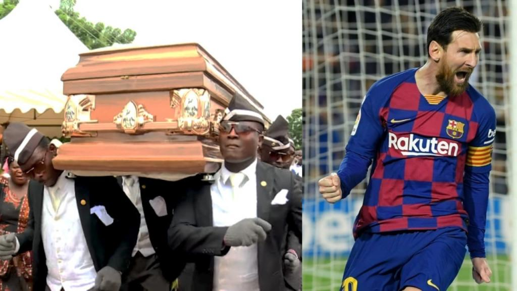 Leader Of Coffin Meme Would Invite Messi Ronaldo And Ronaldinho To Dance Besoccer