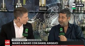 Meza, Banega, Nández, De Rossi... Angelici se mojó. Captura/TNTSports