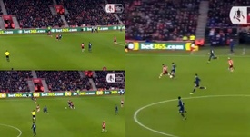 Lo Celso ya es diferencial en la Premier: jugadón antes del 0-1. Twitter/FACup
