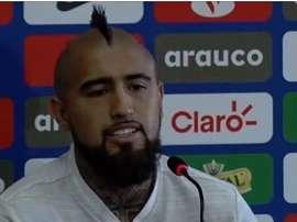 Vidal en conférence de presse. Capture/ASTV