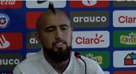 Vidal y la consigna que tuvo en el final de temporada con el Barça. Captura/ASTV