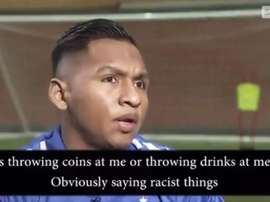 Morelos did not say what was written in the subtitles. Captura/SkySports