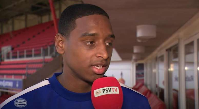Interview with Pablo Rosario. Screenshot/Youtube/PSV