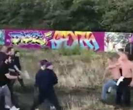 Un descampado fue el escenario de la pelea. ASTV