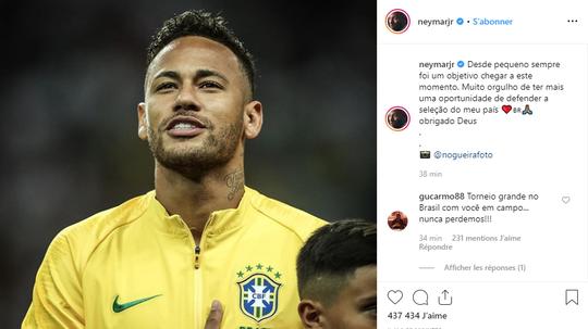 Neymar, solo concentrado en el fútbol. Instagram/neymarjr