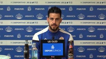 Borja Granero decidió quedarse en el Dépor el pasado verano. YouTube/RealClubDeportivoDeLaCoruña