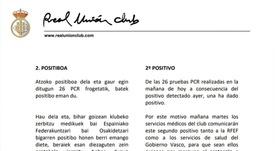 El Real Unión tendrá que esperar una jornada más para estrenarse. RealUniónClub