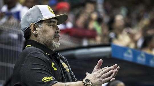 El equipo de Maradona fue eliminado. Captura/CNN