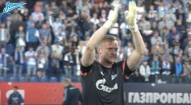 Vyacheslav Malafeev, hospitalizado por COVID-19. YouTube/ZenitFootballClub