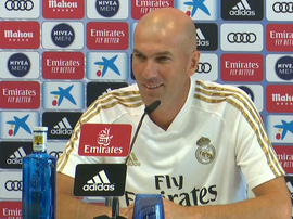 Zidane wants Keylor Navas to stay at Real Madrid. Captura/RealMadridTV