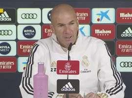 Zidane per il derby lascia a casa tre pedine importanti, ma recupera Modric. Captura/RMTV
