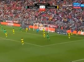 Tufan éclipse le triplé de Benzema. Capture/ESPN