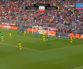 Dirar annihile le doublé de Benzema. Capture/ESPN