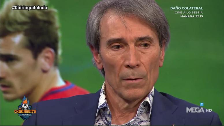 El 'Lobo' Carrasco habló sobre la llegada del Real Madrid. Captura/MEGA