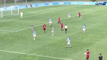 La Real Sociedad y Osasuna jugaron un amistoso. Captura/RealSociedad