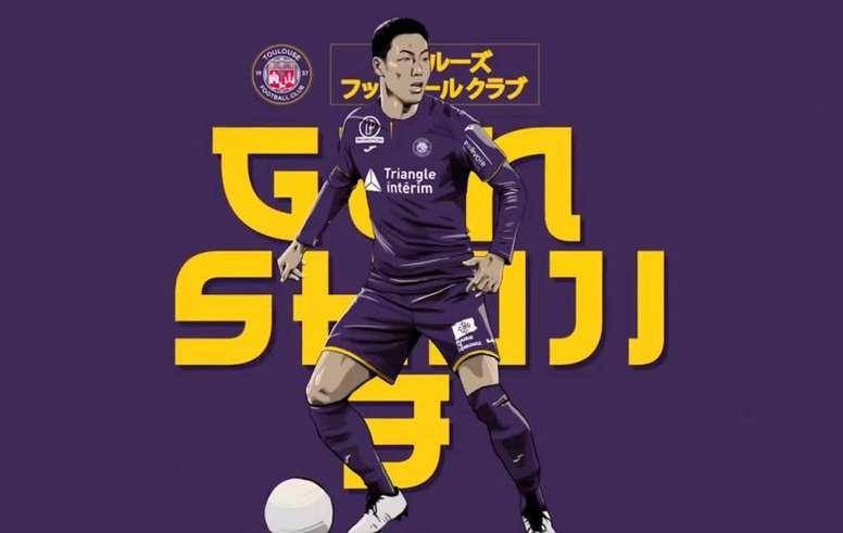 Shoji firma hasta 2022. Toulouse