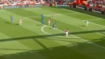 El Chelsea derrotó al Arsenal. Captura/ArsenalFC