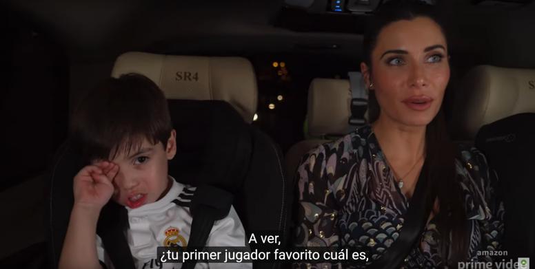 ¿Quién es el jugador favorito del hijo de Ramos? Pista: ¡no es su padre! AmazonPrimeVideoEspaña
