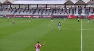 El Racing de Santander firmó su primera victoria. Captura/YouTube/AthleticClub