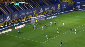 Boca empata con Argentinos Juniors en la quinta jornada. Captura/TNTSports