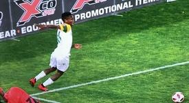 Zwane le pidió disculpas a Mbonani. Captura/SuperSportTV