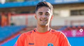 Álvaro ya ha sido presentado en Croacia. Instagram/hnk.sibenik