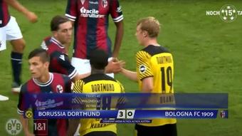 Haaland se queda a cero en el paseo del Borussia. Youtube/BorussiaDortmund
